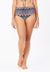 Ruched Swim Bottom in Aztecal Print
