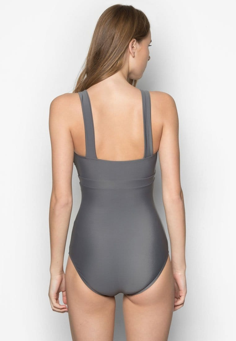 One Piece Swimsuit in Classic Grey (S - XL)
