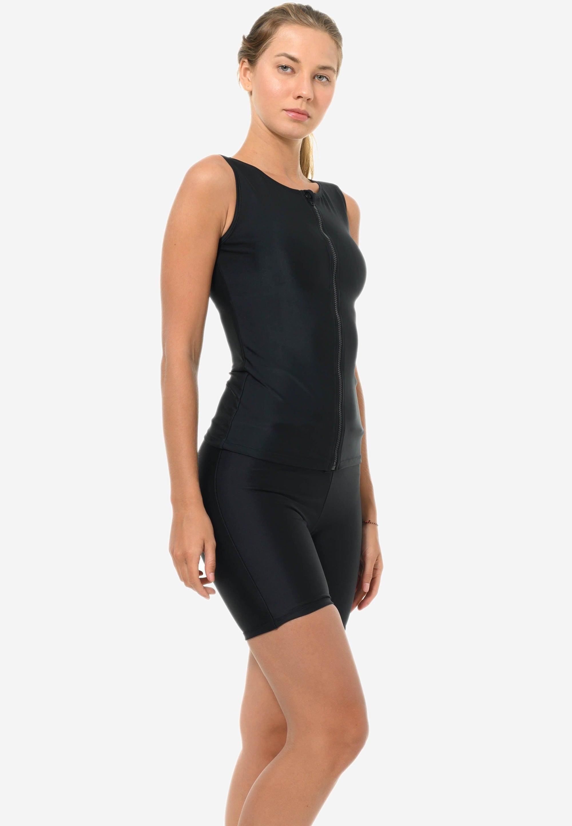 Tankini One-piece in Black (S - XL)