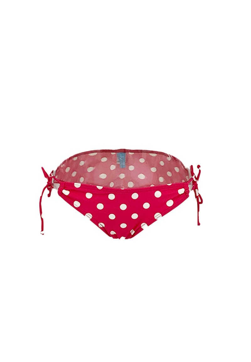 FUNFIT Tie String Swim Bottom in Polka Dot Print | S - L