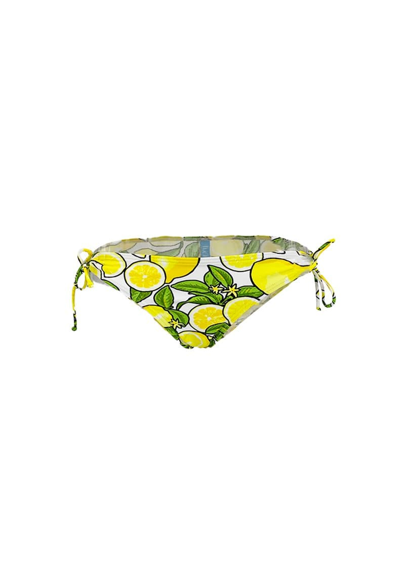 FUNFIT Tie String Swim Bottom (Lemonade Print) | XS - XL