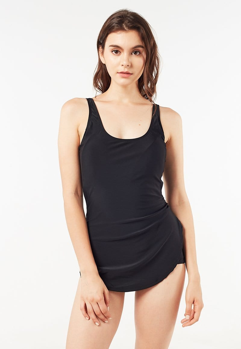 One Piece Overlay Swimsuit (S - 2XL)
