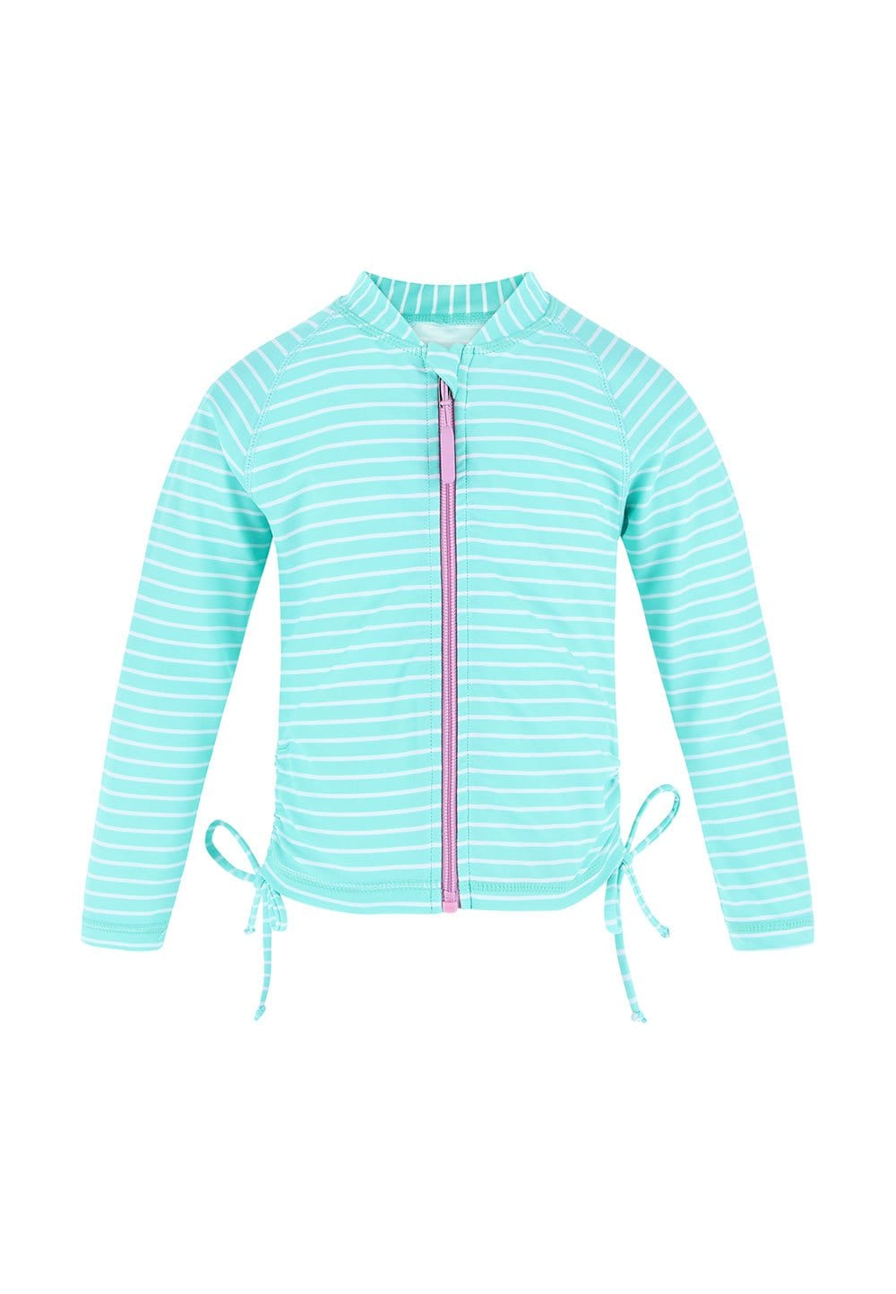 UPF50+ Junior Rash Top (Unisex) in Bubblegum Print