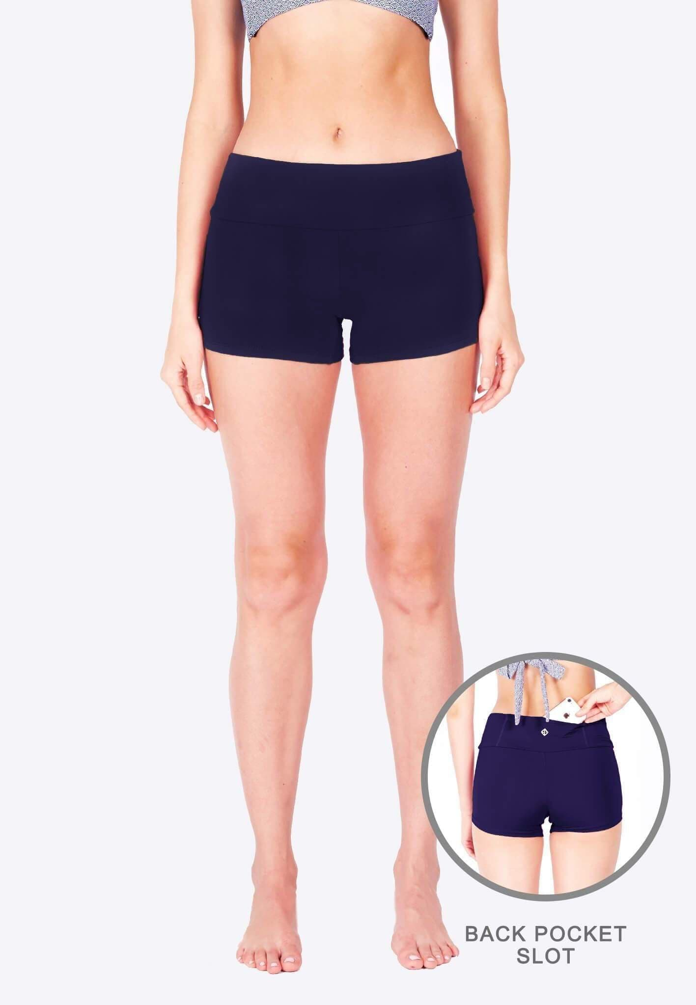 FUNFIT Boyshorts (Navy) | Athleiswim™ | XS - 2XL