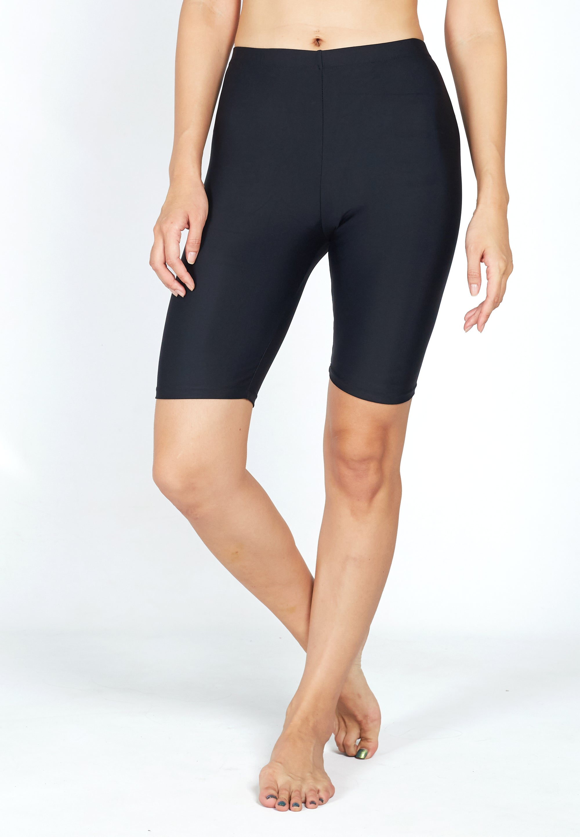 FUNFIT UPF50+ Basic Surfer Shorts (Black) | S - 5XL