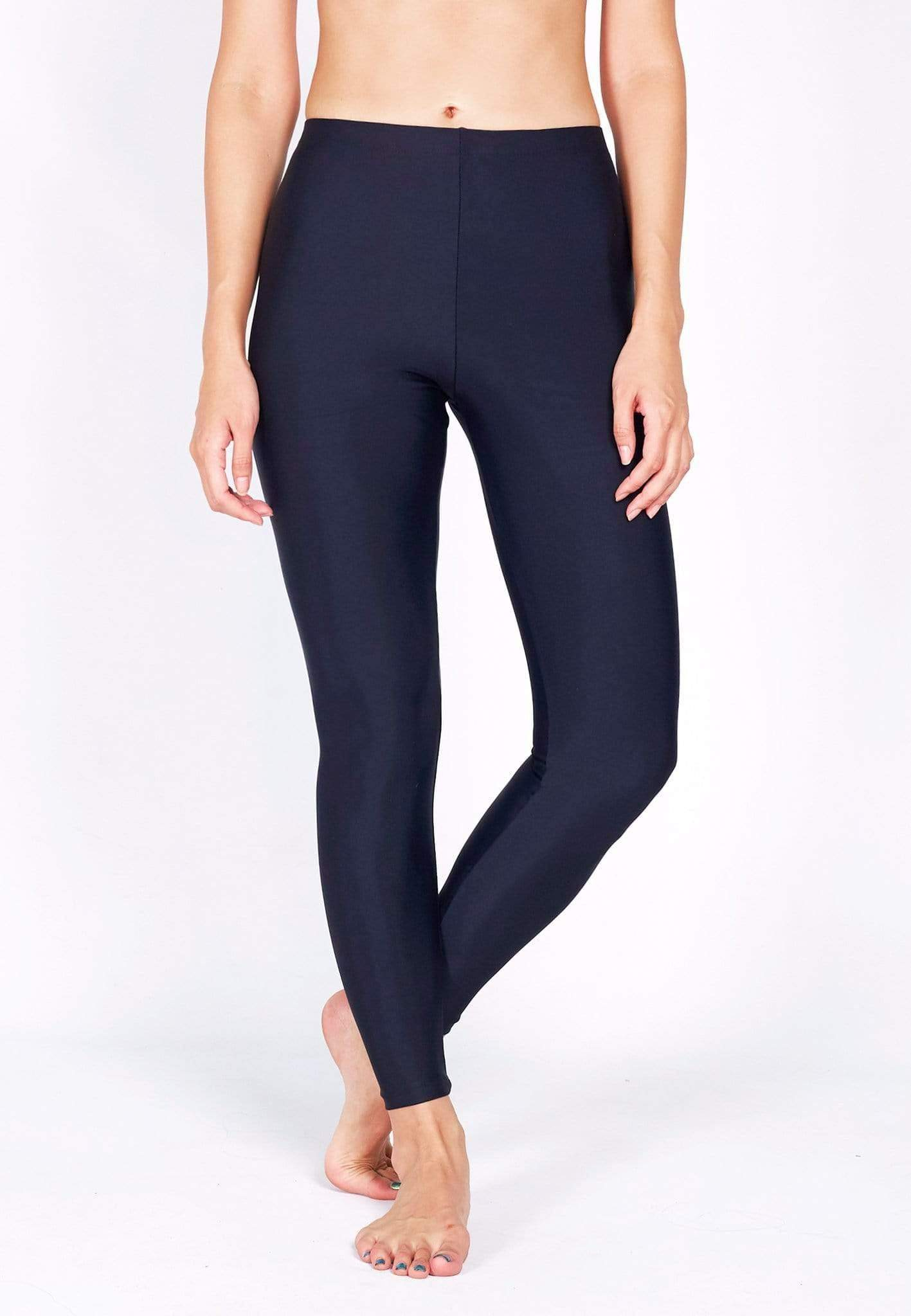UPF50+ Basic Swim Tights (Navy) | S - 5XL