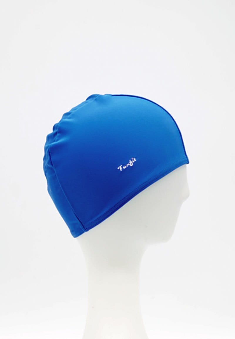 FUNFIT Fabric Swim Cap in Blue