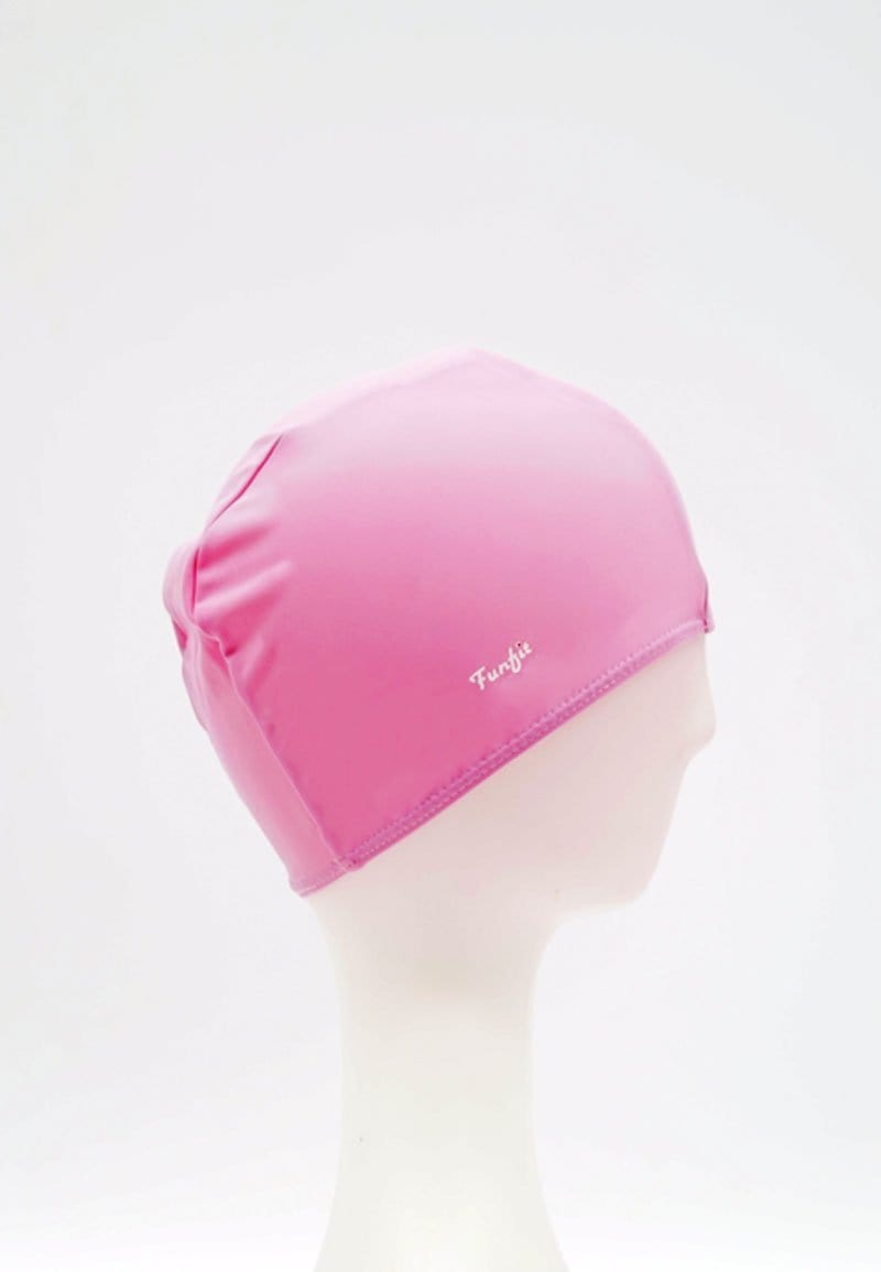 Fabric Swim Cap in Pink
