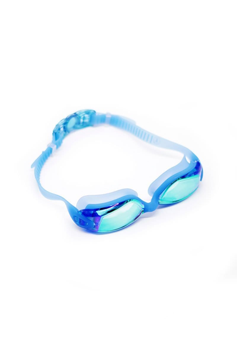 FUNFIT Tinted Angular Frame Goggles in Blue