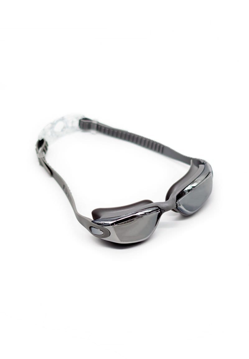 FUNFIT Reflective Angular Frame Goggles in Silver