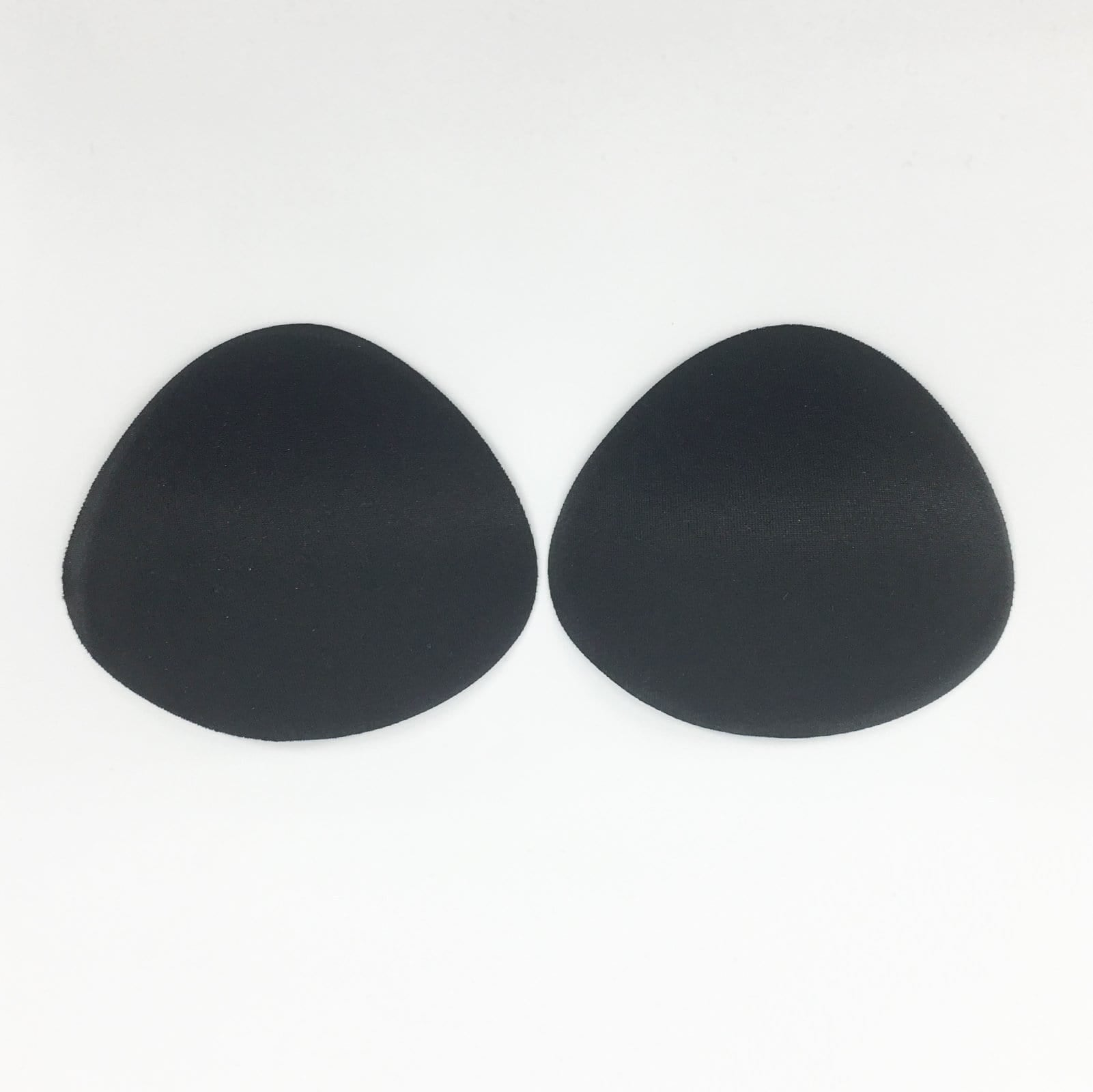 Small Push-Up Bra Padding Inserts In Black - FUNFIT