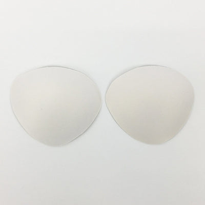 Small Push-Up Bra Padding Inserts In White - FUNFIT