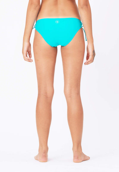 Tie String Swim Bottom in Turquoise - FUNFIT