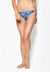 Tie String Swim Bottom in Havana Print