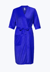 Swim Robe in Cobalt Blue - FUNFIT