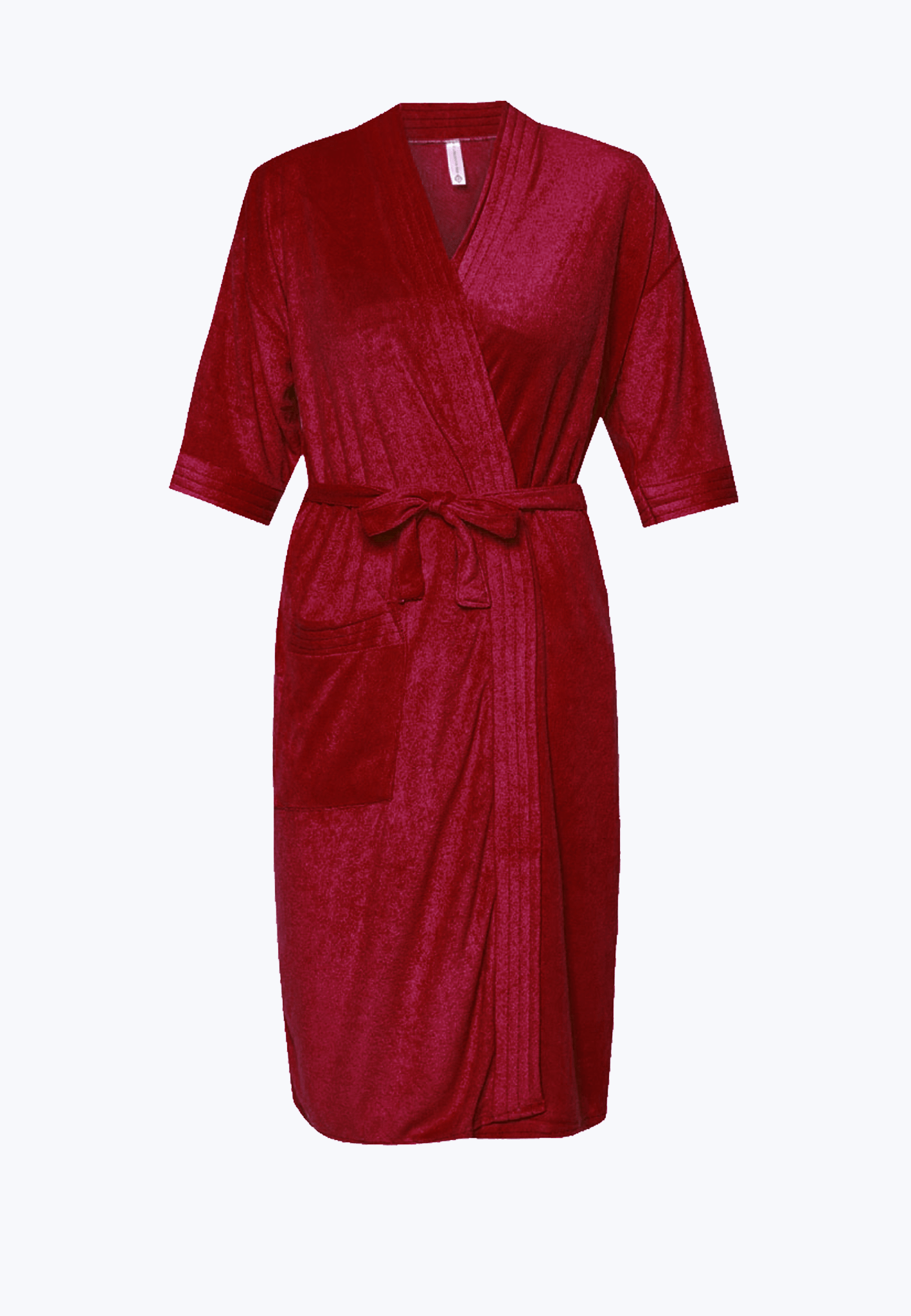 Swim Robe in Maroon - FUNFIT