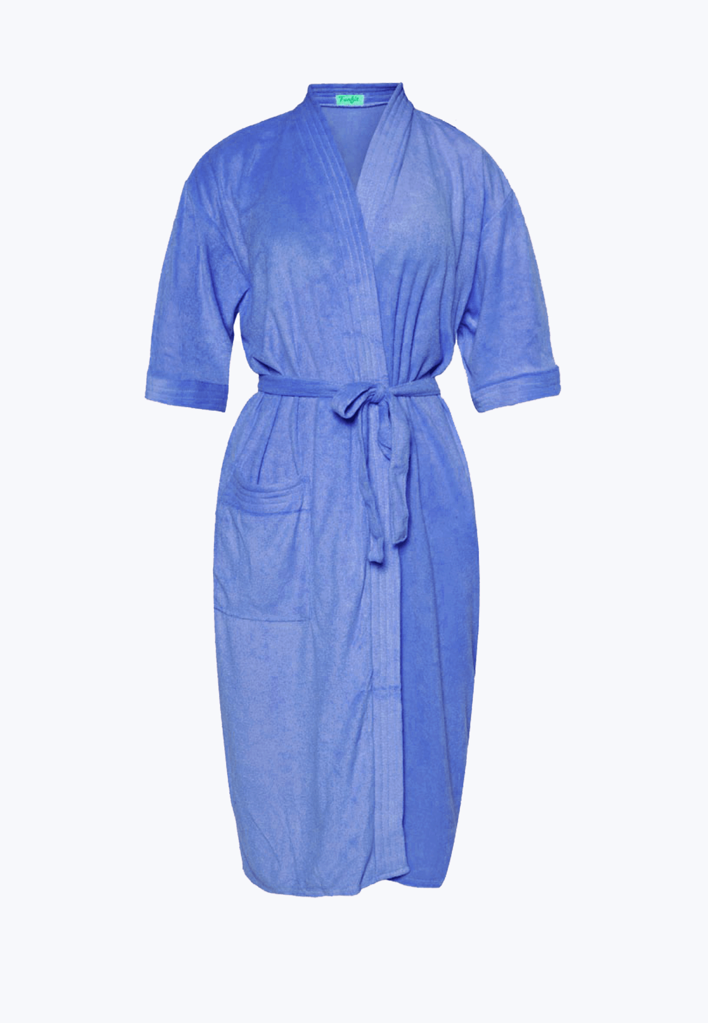 Swim Robe in Ocean Blue
