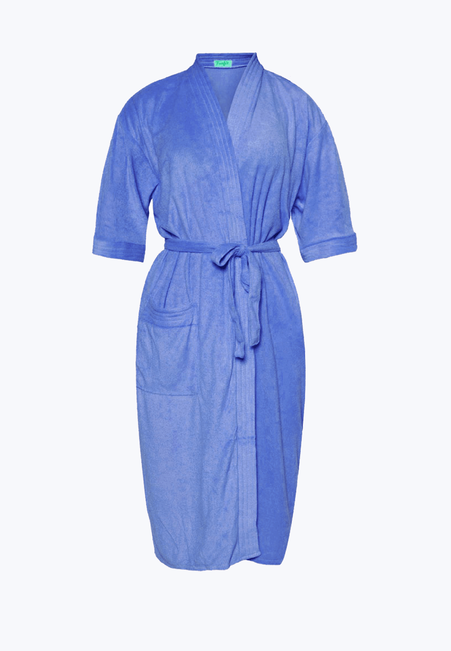 Swim Robe in Ocean Blue - FUNFIT