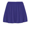 Pleated Swim Skorts in Reflex Blue
