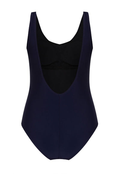 """A Girl Has No Name"" Swimsuit in Navy-FUNFIT"