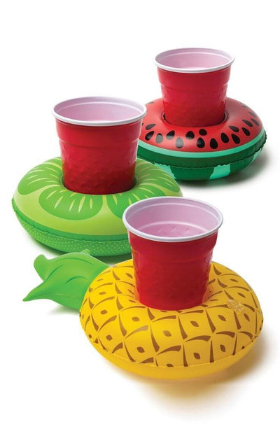 Pineapple Drink Holder Float - FUNFIT