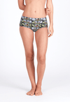 Boyleg Swim Bottom in Rhapsody Print - FUNFIT