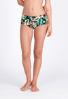 Boyleg Swim Bottom in Tropicana Print - FUNFIT