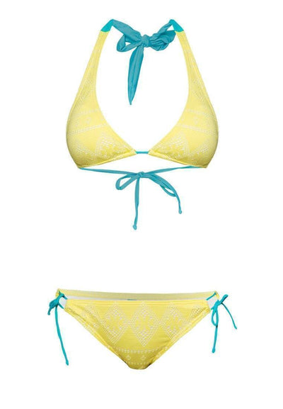 Crochet Bikini Set in Summer Pop - FUNFIT