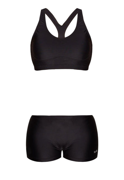 Crop Set in Jet Black - FUNFIT