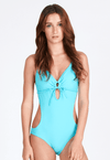 Cut-out One Piece in Verita Mint - FUNFIT