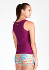 Essential Rash Top in Mulberry - FUNFIT