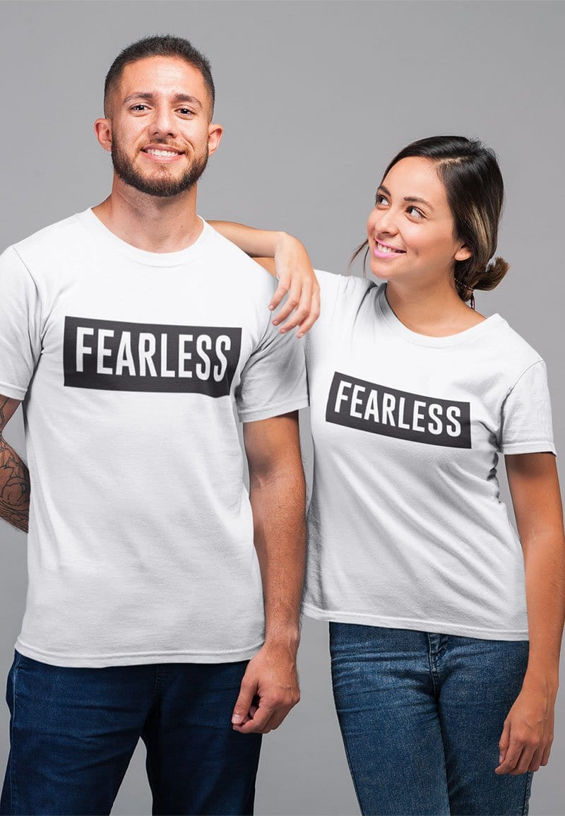 Fearless T-shirt in White