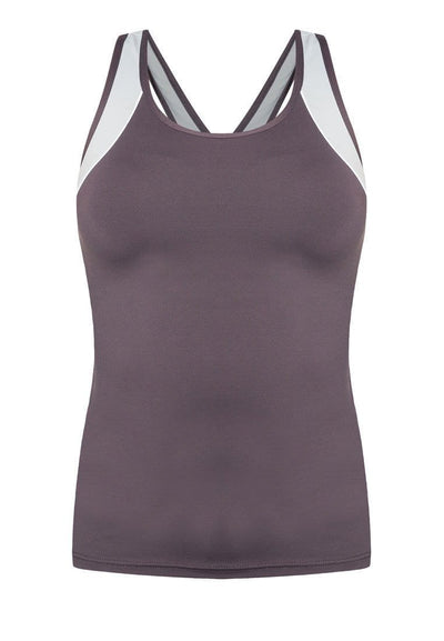 Gear Tactel® Tank Top in Grey - FUNFIT