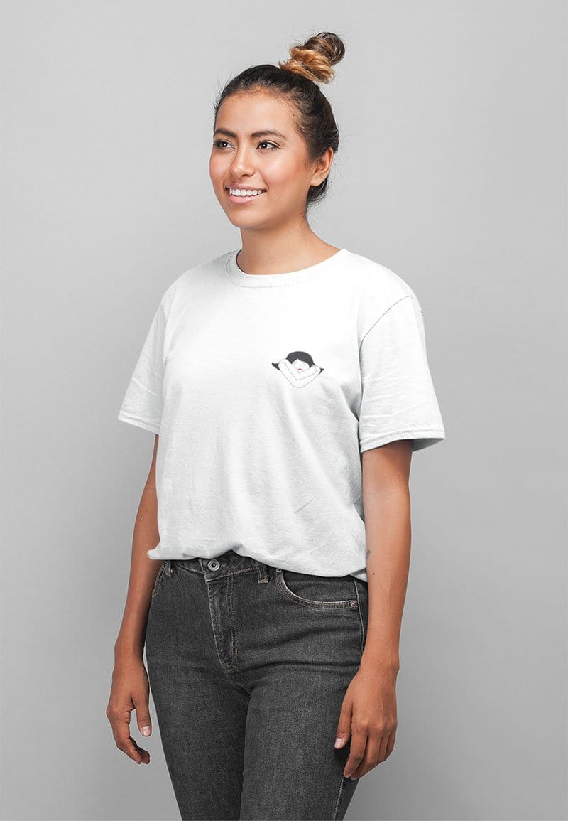 Love Yourself T-shirt in White