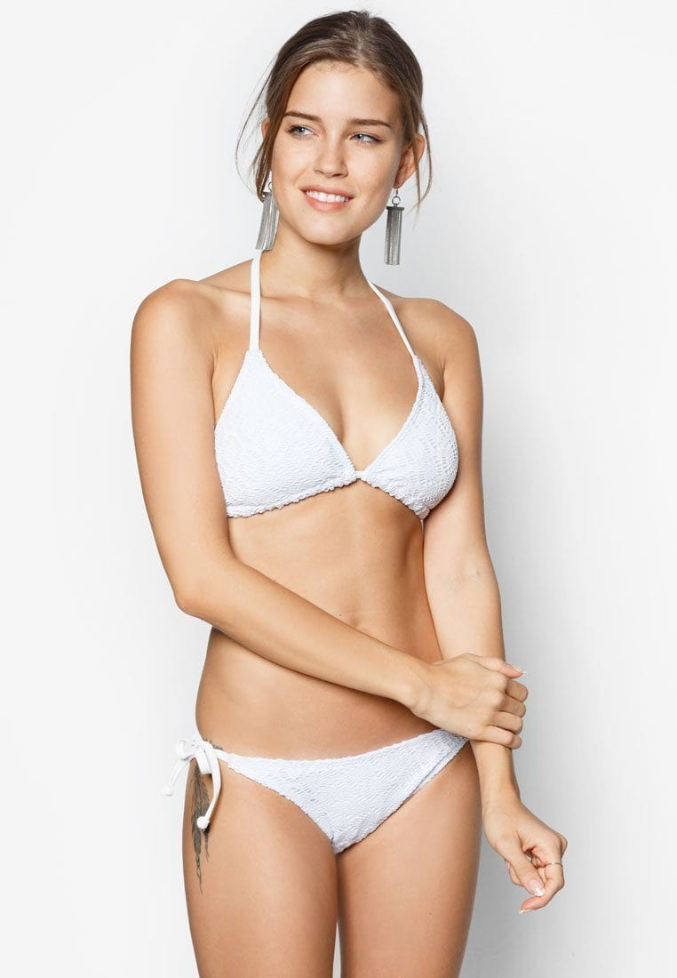 FUNFIT Lace Crochet Bikini Set in White (S - XL)