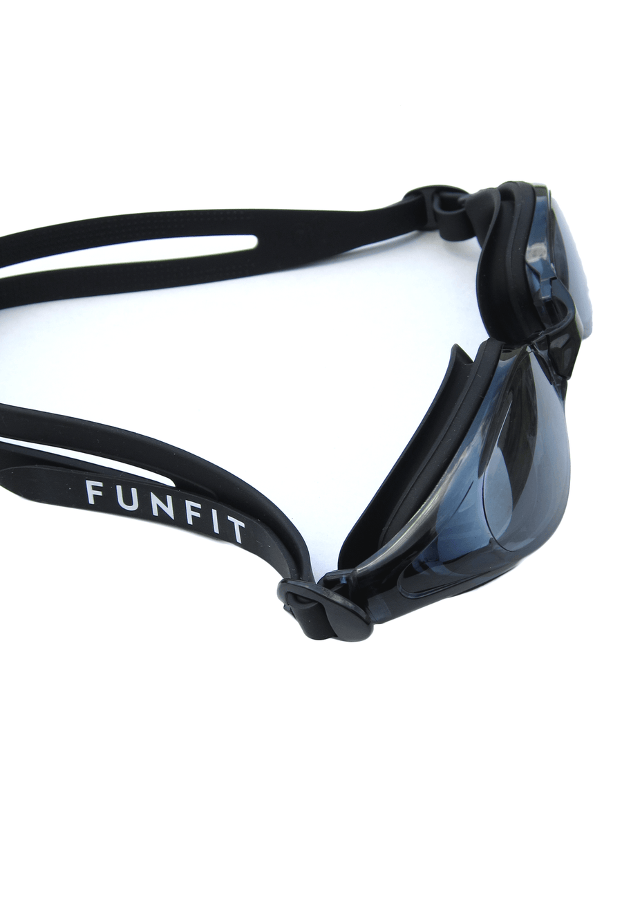 Leisure Wide-Framed Goggles (Black)