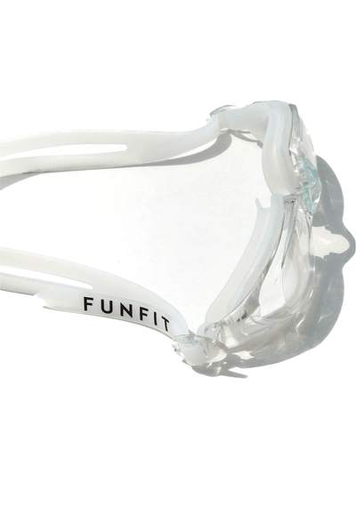 Leisure Wide-Framed Goggles (Clear) - FUNFIT