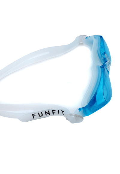 Leisure Wide-Framed Goggles (Turquoise) - FUNFIT