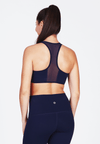 Luxtride Bra (with Back Mesh) in Indigo - FUNFIT