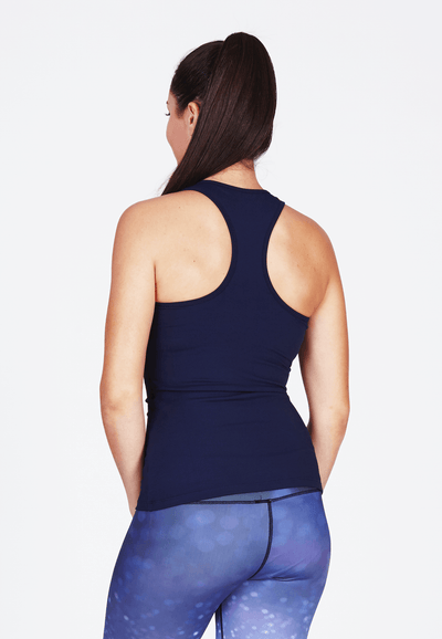 Luxtride Workout Tank Top in Indigo - FUNFIT