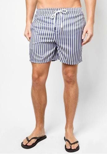 Men Boardshorts in Nautical Stripes - FUNFIT