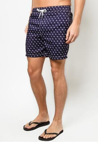 Men Boardshorts in Royal Pony Print (S - 2XL)