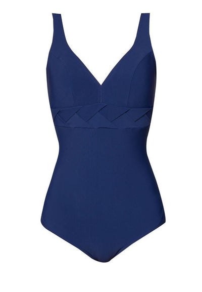 One Piece in Classic Weaved Navy-FUNFIT