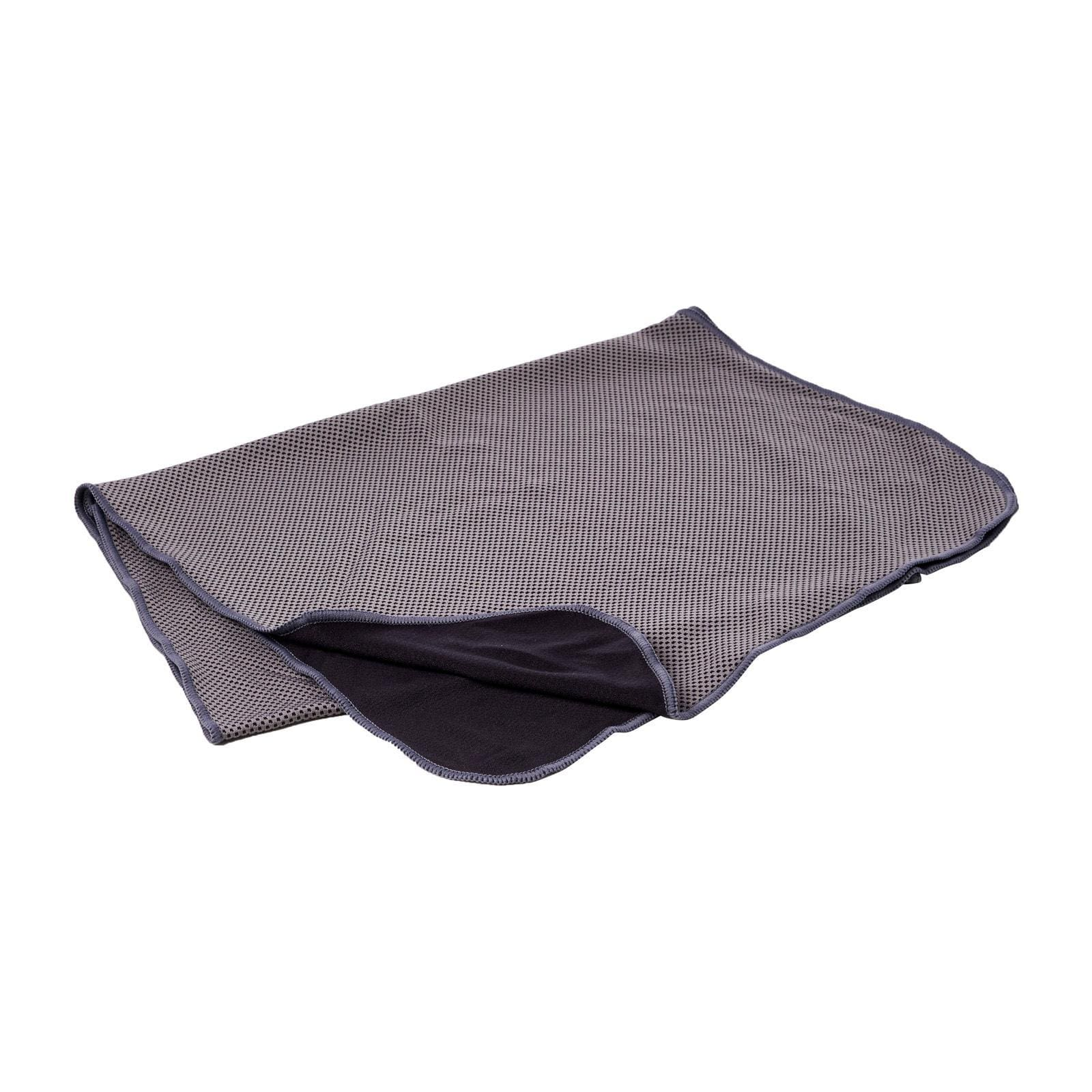 Coolite Sports Towel In Dark Grey