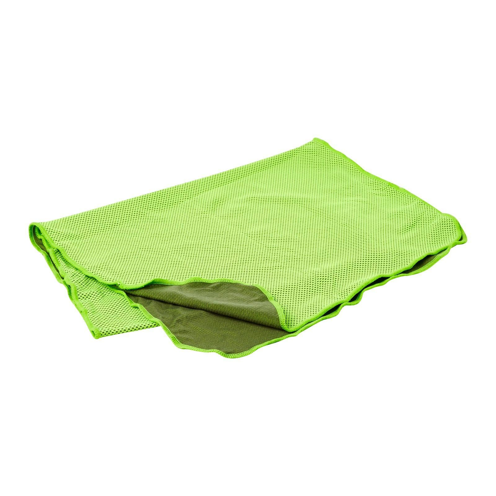 Coolite Sports Towel In Neon Lime
