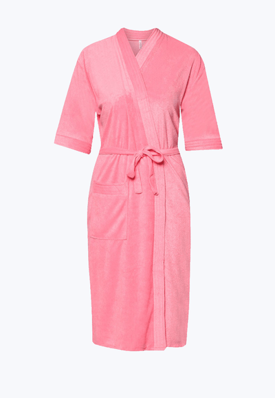 Swim Robe in Cherry - FUNFIT