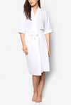 Swim Robe in White - FUNFIT