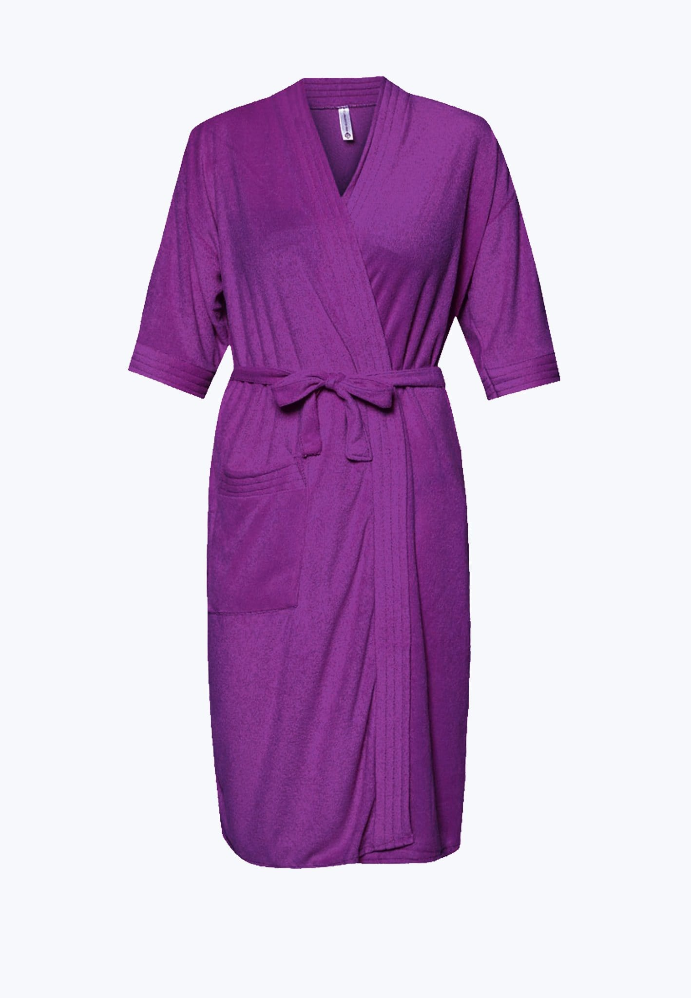 Swim Robe in Deep Purple - FUNFIT