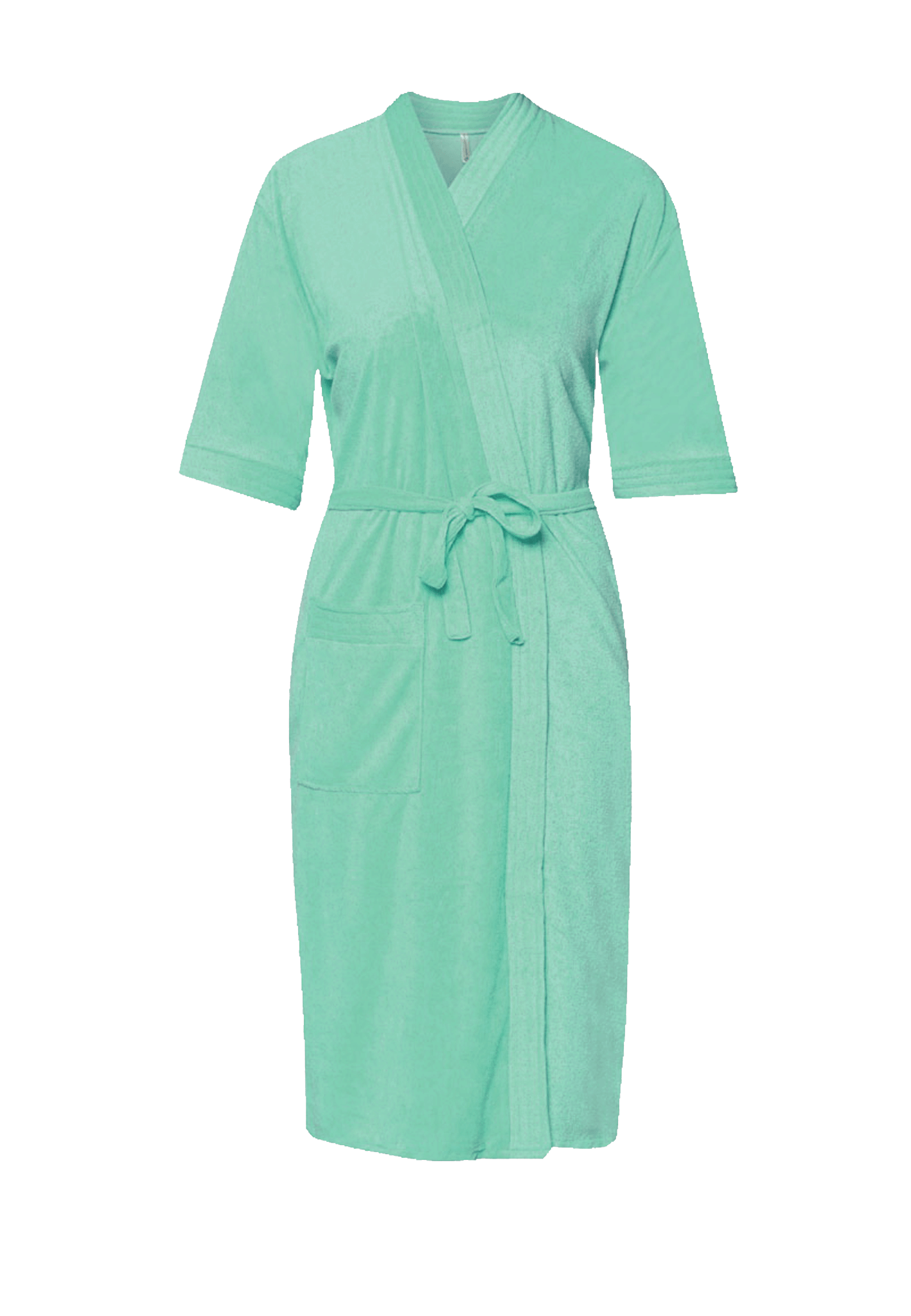 Swim Robe in Jade Green