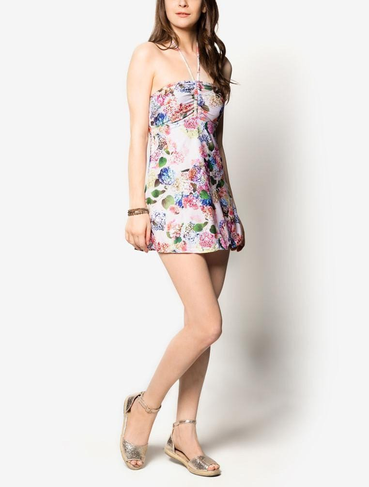 Swimdress in Anemone Print - FUNFIT
